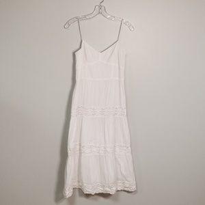 Loft White Sun Dress